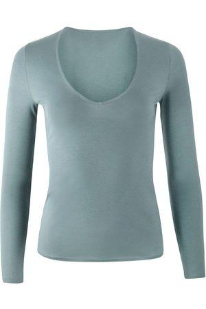 J Brand Women Long Sleeve - Runway Long Sleeve V Neck T-Shirt