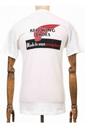 Red Wing 95080 Vintage Logo Tee - Size: Small, Colour: