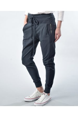 Paradise Boutique Cotton Joggers - Navy