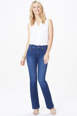 NYDJ Women Wide Leg Trousers - Billie Mini Bootcut Cooper MDNM2049
