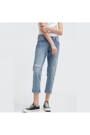 Denham Women Rainwear - Monroe HR Girlfriend Fit - Rip & Repair