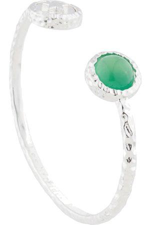 Les N r ides Star & Agate Bangle Bracelet