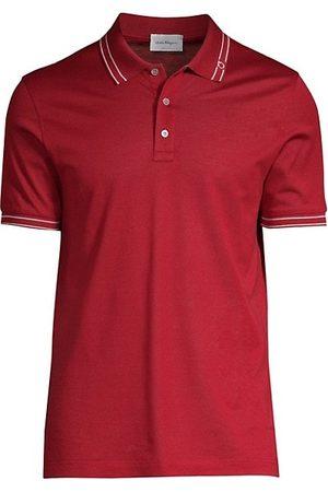 Salvatore Ferragamo Men Polo Shirts - Basic Cotton Polo