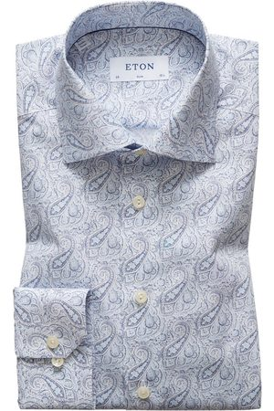 Eton Men T-shirts - Slim Fit Paisley Shirt