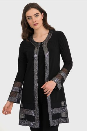 Joseph Ribkoff LONG COVER UP & SILVER