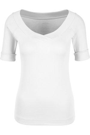 Marc Cain Essentials V Necked T Shirt +E48 88 J50