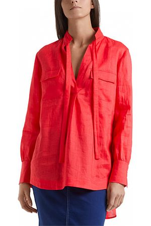 Marc Cain Sheer Shirt in Candy