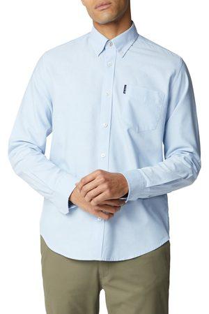 Ben Sherman Men T-shirts - Sky Blue Signature Oxford Shirt