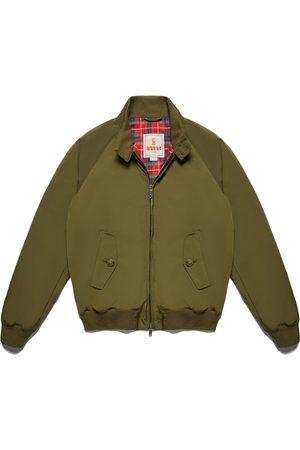 Baracuta Men Jackets - G9 Harrington Jacket Thermal Beech