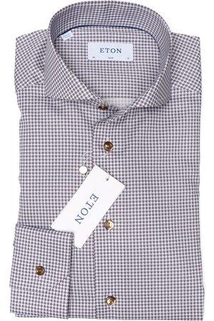 Eton Overhemd Bruin 100001044 35