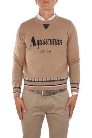Aquascutum Men Jumpers - MEN'S QMCSWE1L0QM00710 WOOL SWEATER