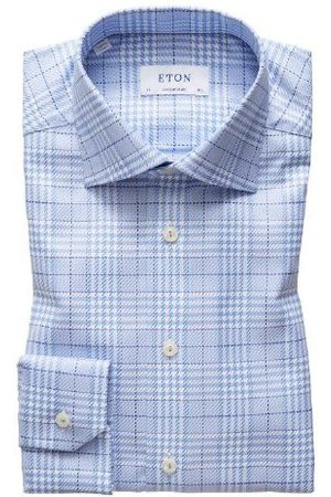 Eton Shirt checkered 100000565 LM 21