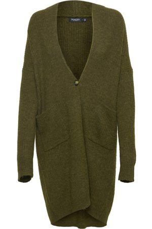 Soaked in Luxury Women Cardigans - TUESDAY AMAYA CARDIGAN - OR OLIVE
