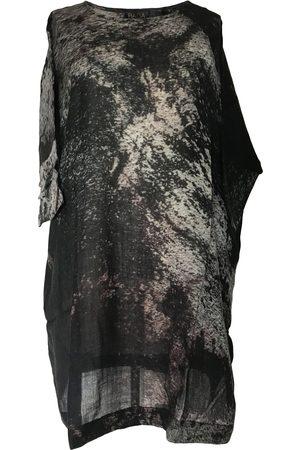 Collard Manson Women Tunic Dresses - Yavi Raga Fila Wool Woven Tunic