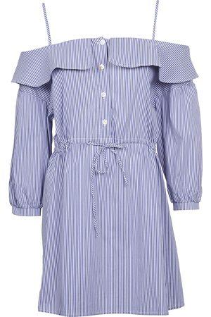 Jovonna WOMEN'S 341BENCHLEYBLUE COTTON DRESS