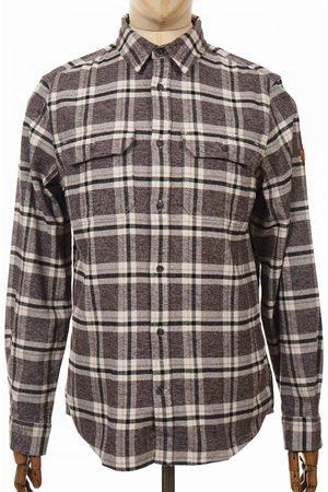 Fjällräven Fjallraven Ovik Heavy Flannel Shirt - Dark Grey Size: Small, Colour: D