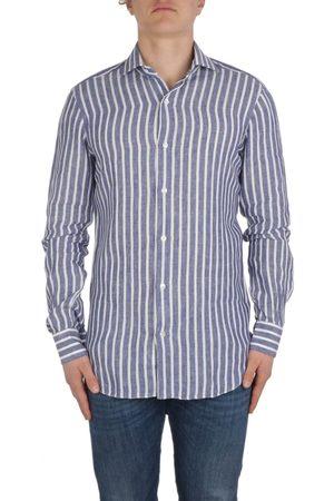 BARBA Men T-shirts - MEN'S 622002 LIGHT LINEN SHIRT