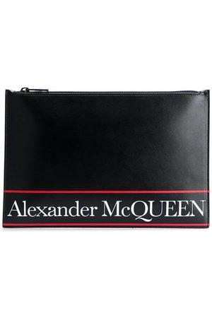 Alexander McQueen Men Wallets - MEN'S 5604721SJ6B1092 LEATHER POUCH