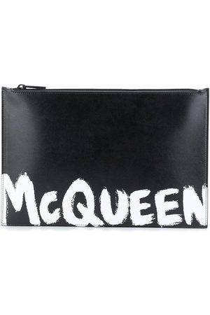 Alexander McQueen MEN'S 5604721NT5B1070 LEATHER POUCH