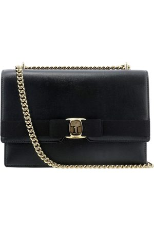 Salvatore Ferragamo Women Shoulder Bags - WOMEN'S 0733460 LEATHER SHOULDER BAG
