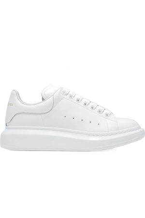 Alexander McQueen Men Sneakers - MEN'S 553680WHGP59000 LEATHER SNEAKERS