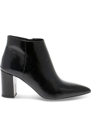 Janet&Janet Women Ankle Boots - WOMEN'S JANET44603VN LEATHER ANKLE BOOTS