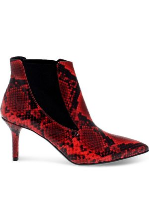 Janet&Janet WOMEN'S JANET44453PR LEATHER ANKLE BOOTS