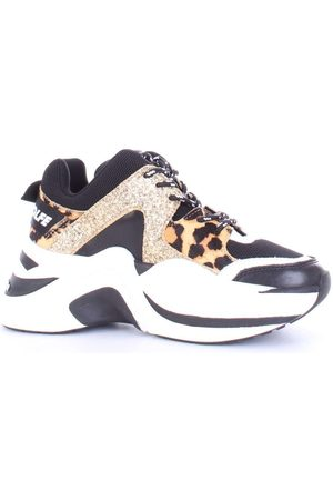 Naked Wolfe WOMEN'S NWSTRACKGOLD LEATHER SNEAKERS