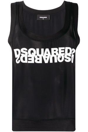 Dsquared2 WOMEN'S S75NC0918S52626900 COTTON TANK TOP