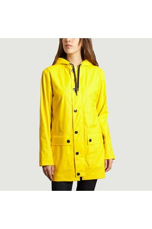Petit Bateau Women Coats - Iconic Waterproof Jaune