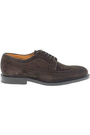 Fabi Men Footwear - MEN'S FU7747BROWN SUEDE LACE-UP SHOES
