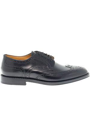 Fabi Men Footwear - MEN'S FU7754BLACK LEATHER LACE-UP SHOES