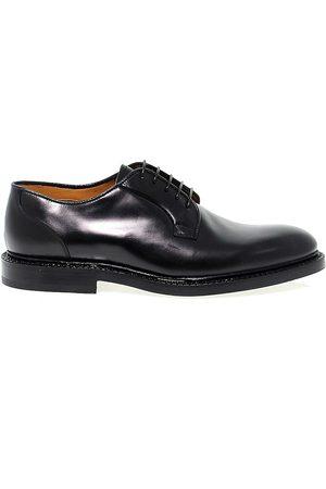 Fabi Men Footwear - MEN'S FU7745BLACK LEATHER LACE-UP SHOES