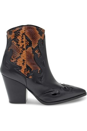 Janet&Janet WOMEN'S JANET44503NC LEATHER ANKLE BOOTS