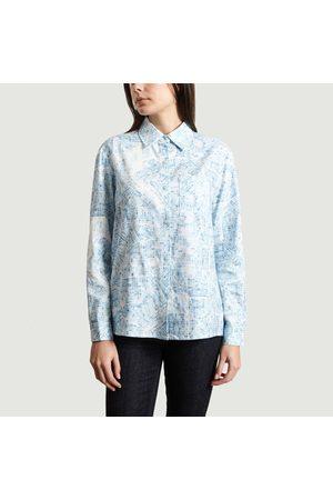 Bleu Tango Seattle Print Shirt