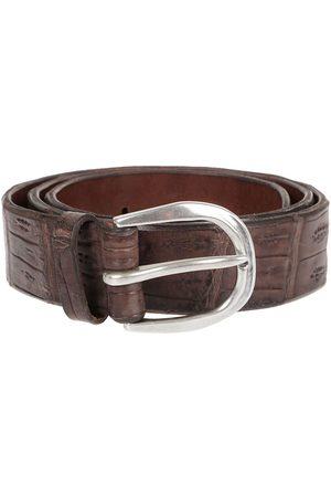 Orciani Men Belts - MEN'S U07642EBANO LEATHER BELT
