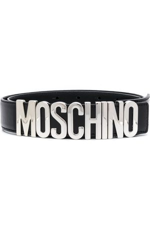 Moschino MEN'S A801280016555 LEATHER BELT