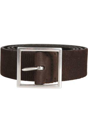 Orciani Men Belts - MEN'S U07367MORONERO LEATHER BELT