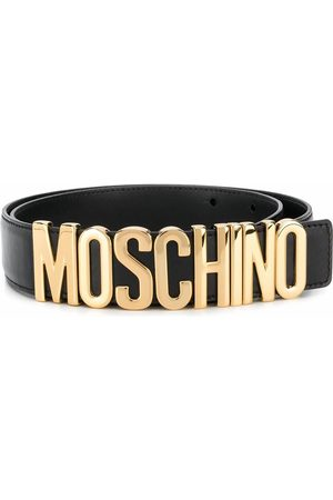 Moschino MEN'S A801280010555 LEATHER BELT