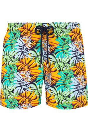 Vilebrequin Moorise Swim Short Stretch Jungle Midnight