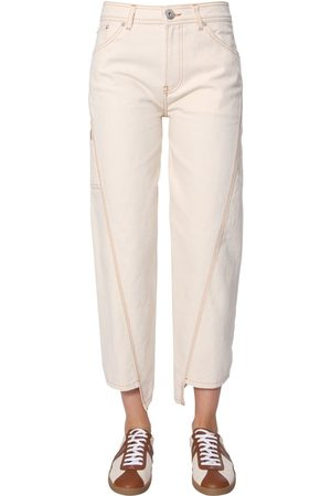 Lanvin Women Trousers - WOMEN'S RWTR503U4271H19021 COTTON PANTS