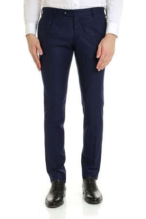 Men Formal Trousers - L.B.M. MEN'S 9351208 WOOL PANTS