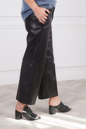 Mac Chiara Faux Leather Culotte