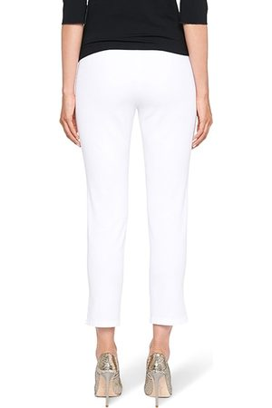 Marc Cain Women Stretch Trousers - Ankle-Length Stretch Trousers in