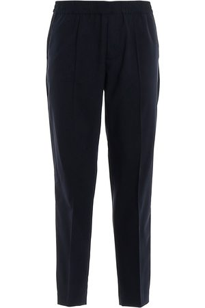 Emporio Armani Men Formal Trousers - MEN'S 3H1PL61NJWZ920 WOOL PANTS