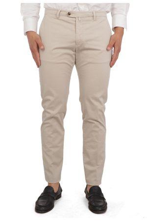 Briglia 1949 Men Trousers - 1949 MEN'S BG04320706723 BEIGE COTTON PANTS