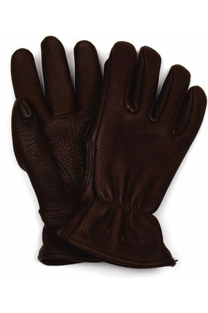Red Wing 95231 Lined Buckskin Leather Gloves - Size: Medium, Col