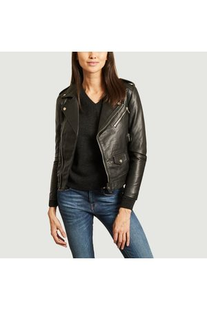 Deadwood River Original Leather jacket RECYCLED LEATHER