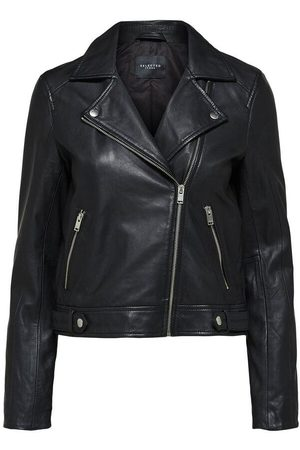 SELECTED Women Leather Jackets - SLFKATIE LEATHER JACKET