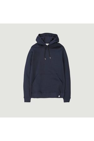 Norse projects Cotton Hoodie VAGN Classic DARK NAVY